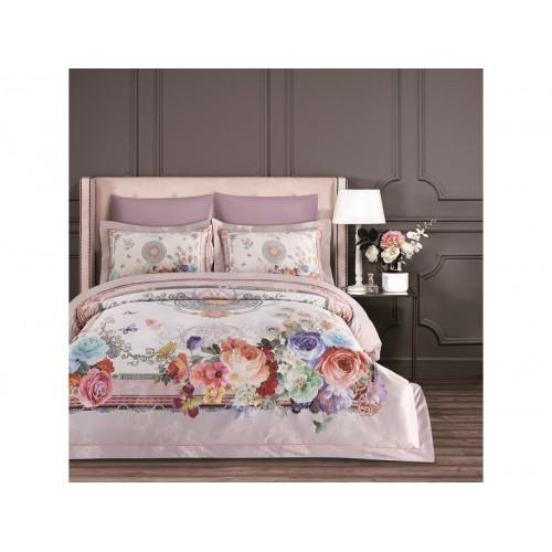 Комплект постельный Arya Турция Dream Line евро Hamala