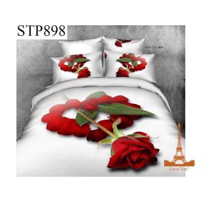 Постельное белье Love You Сатин 3D 1,5 Сп Симпатия