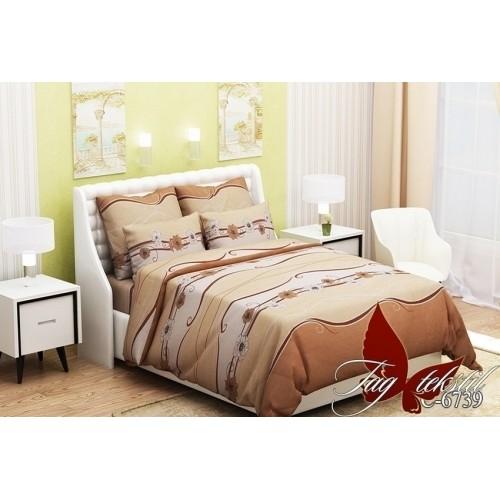 Комплект постельный полуторный ранфорс TAG RC6739
