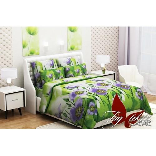 Комплект постельный полуторный ранфорс TAG RC6746