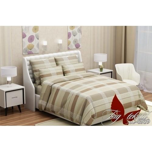 Комплект постельный полуторный ранфорс TAG RC6939