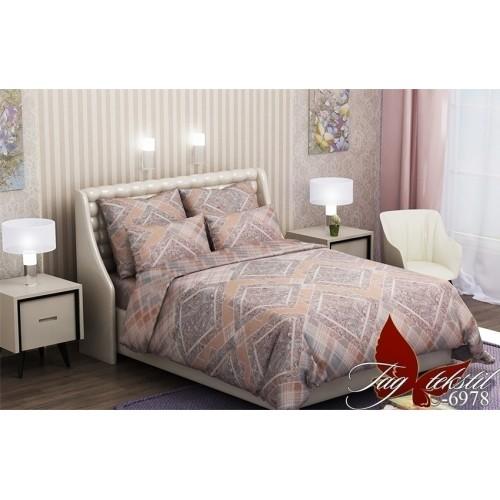 Комплект постельный полуторный ранфорс TAG RC6978