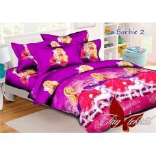 Комплект постельного белья ранфорс Barbie2