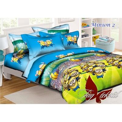 Комплект постельного белья ранфорс Minion2