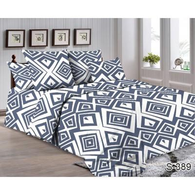 Комплект постельного белья TAG Сатин Люкс S389 Двуспальный