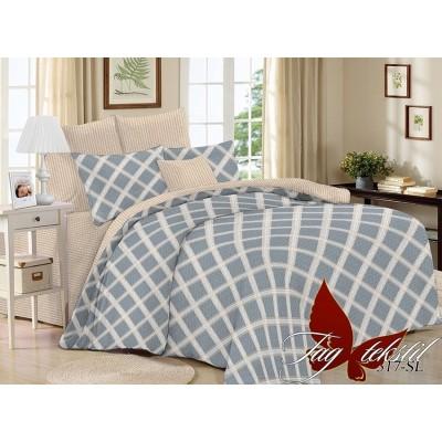 Комплект постельного белья TAG Поплин SL317 Полуторный