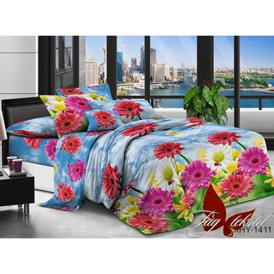 Комплект постельного белья TAG Поликоттон XHY1411 Семейный