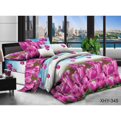 Комплект постельного белья TAG Поликоттон XHY345 Евро