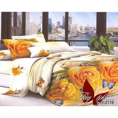 3D постельное белье поликоттон двухспальное TAG XHY2118