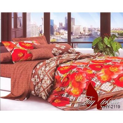 3D постельное белье поликоттон двухспальное TAG XHY2119