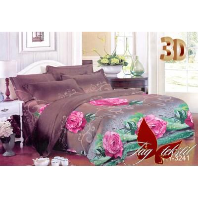 3D постельное белье поликоттон двухспальное TAG XHY3241