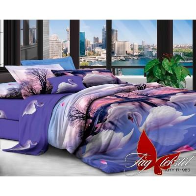 3D постельное белье поликоттон двухспальное TAG XHY1986