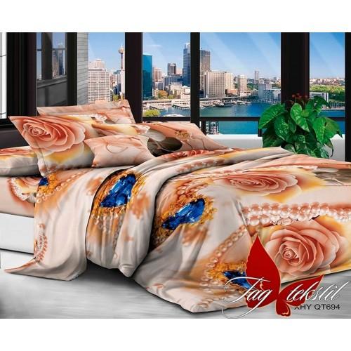 3D постельное белье поликоттон семейное TAG XHY694
