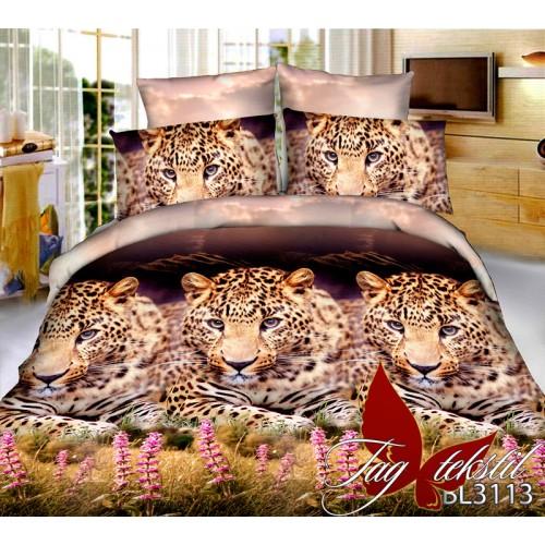 Комплект постельного белья 3D поликоттон полутораспальное BL3113