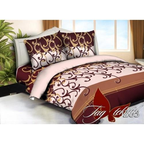 Комплект постельного белья 3D поликоттон полутораспальное HL263