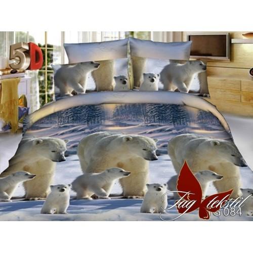 Комплект постельного белья 3D поликоттон полутораспальное TG084