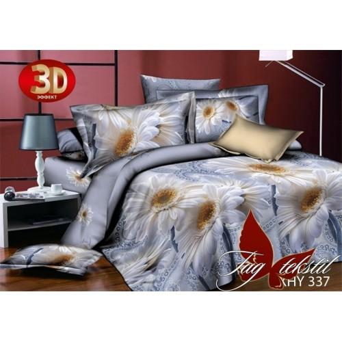 Постельное белье 3D поликоттон полутораспальное TAG XHY337