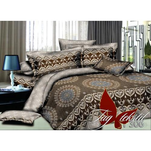 Комплект постельного белья 3D поликоттон полутораспальное BY306