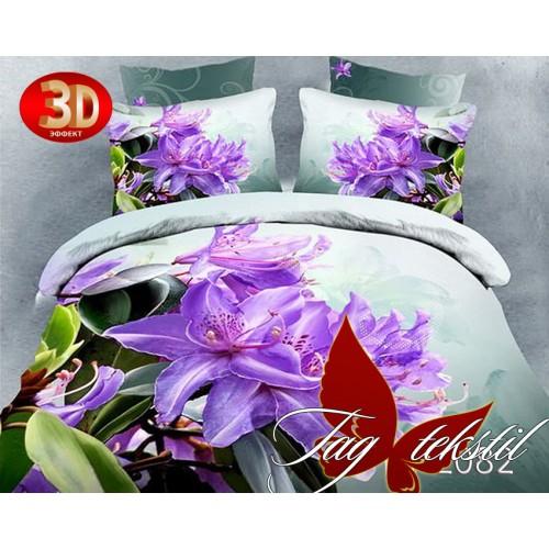 Комплект постельного белья 3D поликоттон полутораспальное HL 082
