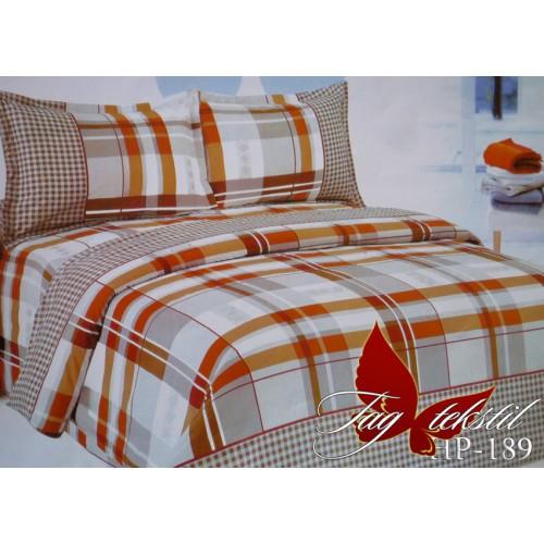 Комплект постельного белья 3D поликоттон полутораспальное HP 189
