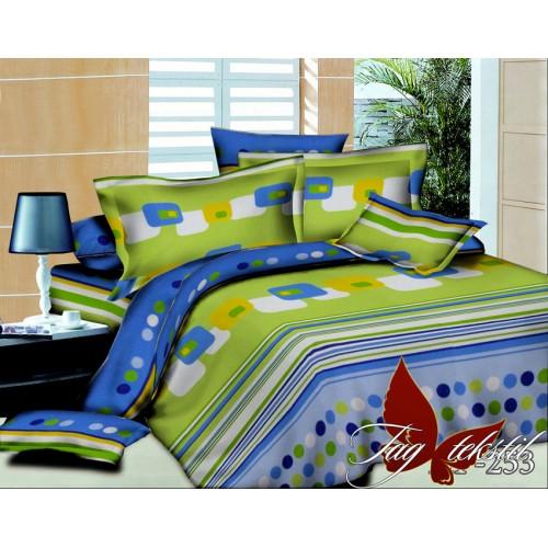 Комплект постельного белья 3D поликоттон полутораспальное HL 253