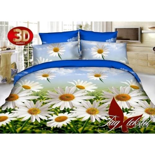 Комплект постельного белья 3D полисатин полуторное PS-HL179