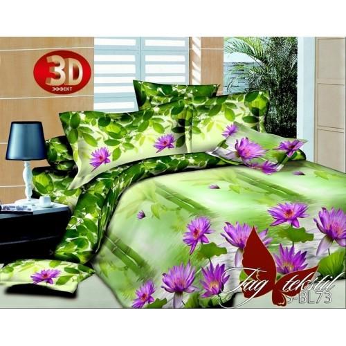 Комплект постельного белья 3D полисатин полуторное PS-BL73