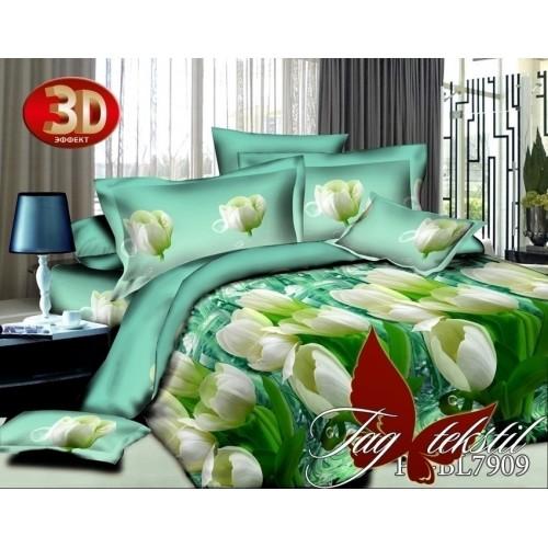 Комплект постельного белья 3D полисатин полуторное BL 7909