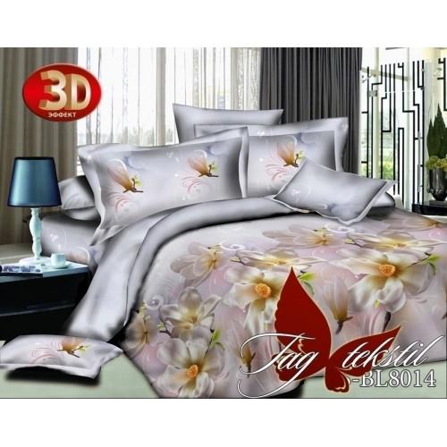 Комплект постельного белья 3D полисатин полуторное BL 8014