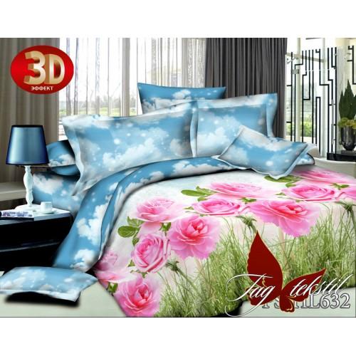 Комплект постельного белья 3D полисатин полуторное HL 632