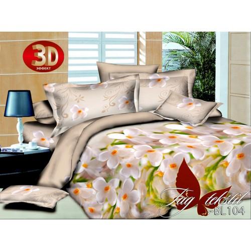 Комплект постельного белья 3D полисатин полуторное BL104