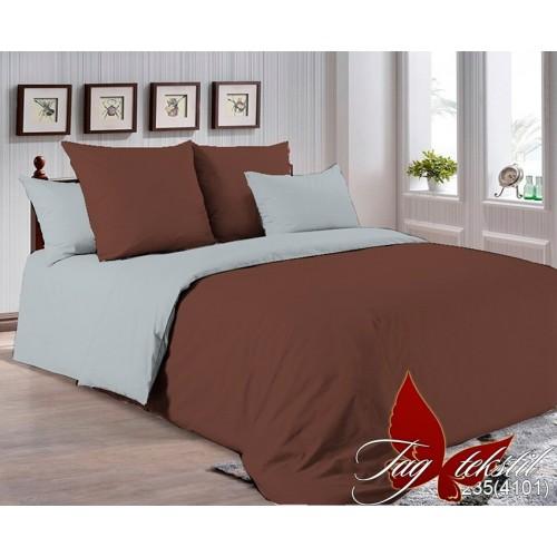 Поплиновое постельное белье полуторное TAG P-0550(0643)