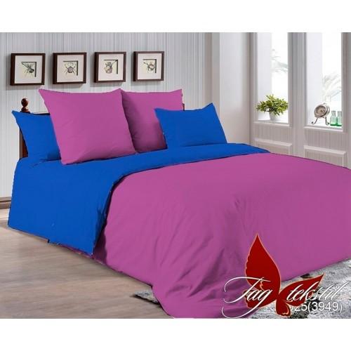 Поплиновое постельное белье полуторное TAG P-3025(3949)