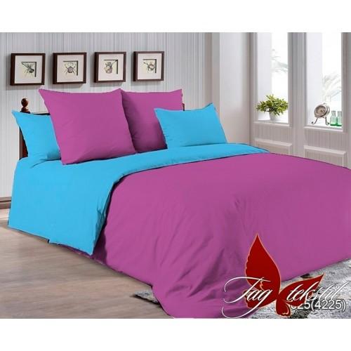 Поплиновое постельное белье полуторное TAG P-3025(4225)