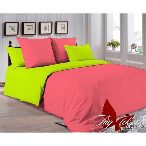 Комплект постельного белья поплин полуторное TAG P-6010(0550)