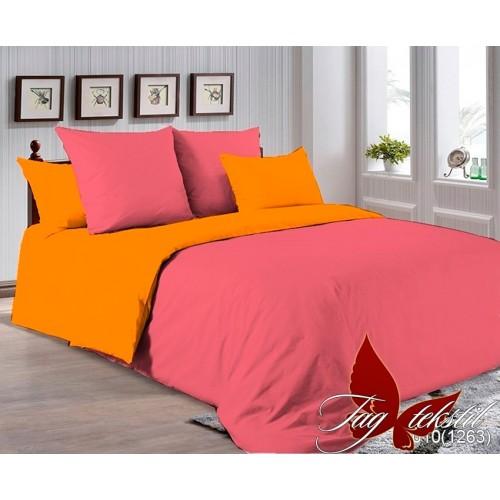 Комплект постельного белья поплин полуторное TAG P-6010(1263)