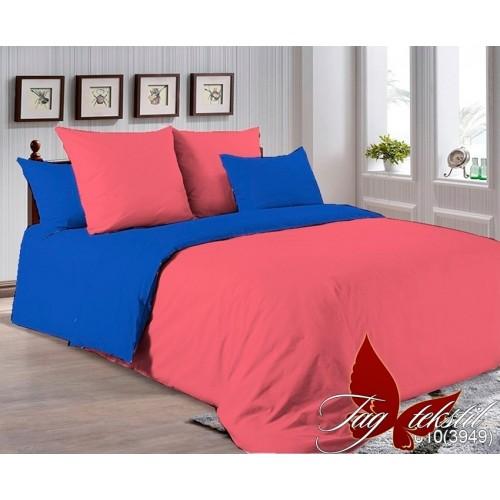 Комплект постельного белья поплин полуторное TAG P-6010(3949)