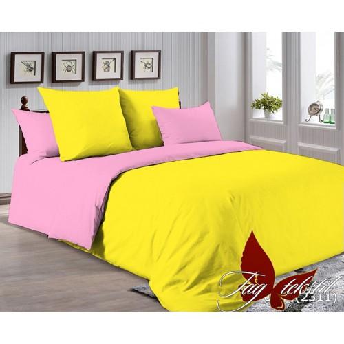 Поплиновое постельное белье полуторное TAG P-0643(2311)