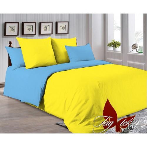 Поплиновое постельное белье полуторное TAG P-0643(4225)
