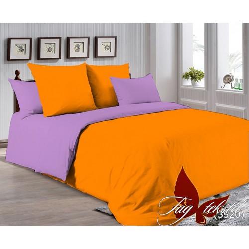 Поплиновое постельное белье полуторное TAG P-1263(3520)