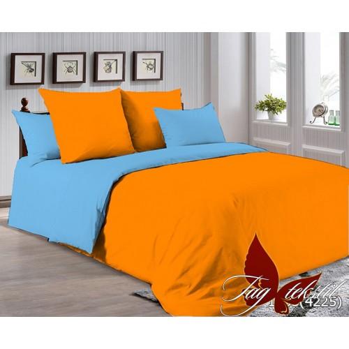 Поплиновое постельное белье полуторное TAG P-1263(4225)
