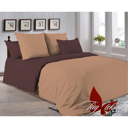 Поплиновое постельное белье полуторное TAG P-1323(1317)