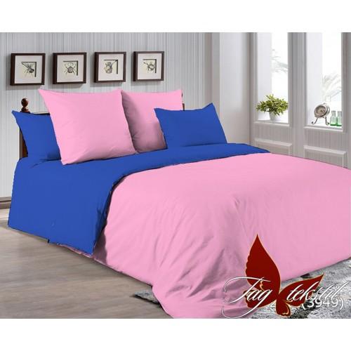 Поплиновое постельное белье полуторное TAG P-2311(3949)