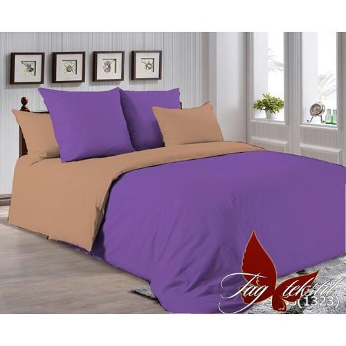 Поплиновое постельное белье полуторное TAG P-3633(1323)