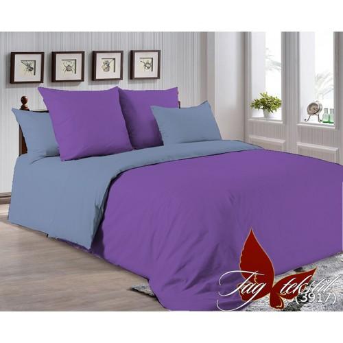 Поплиновое постельное белье полуторное TAG P-3633(3917)