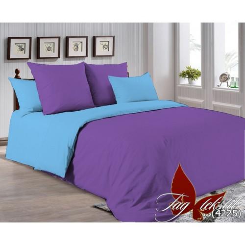 Поплиновое постельное белье полуторное TAG P-3633(4225)