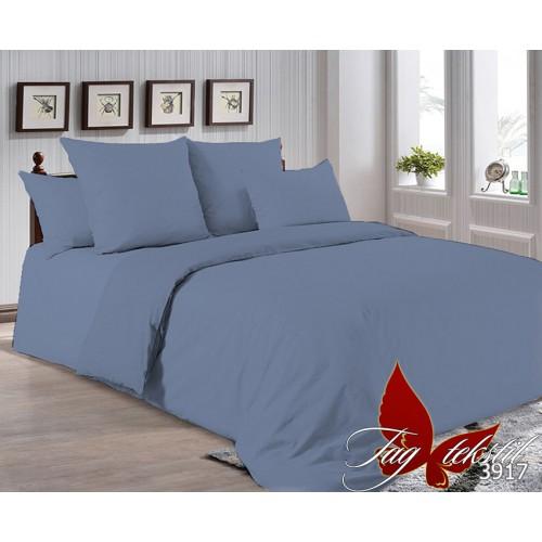 Поплиновое постельное белье полуторное TAG P-3917