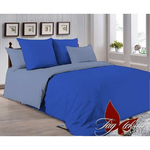 Поплиновое постельное белье полуторное TAG P-3949(3917)