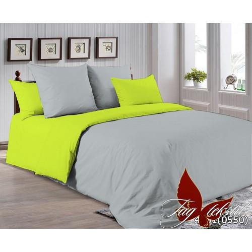 Поплиновое постельное белье полуторное TAG P-4101(0550)