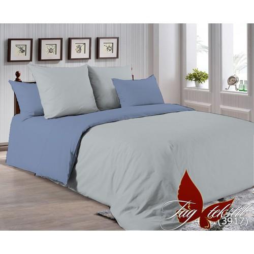 Поплиновое постельное белье полуторное TAG P-4101(3917)